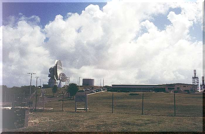 What Is Satellite Tracking Station Antigua 2000 Earth