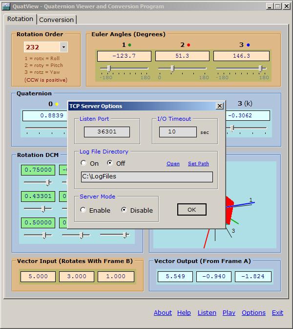 QuatView screenshot